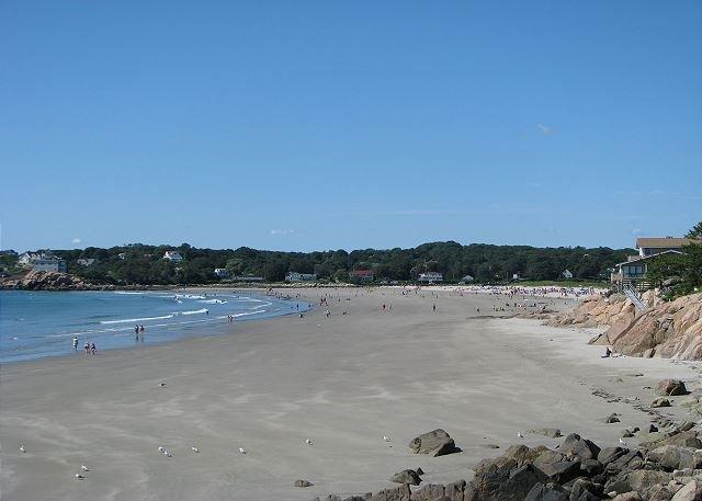 Walk to Good Harbor Beach. - Beach Walk: Good Harbor Beach footbridge just steps away! - Gloucester - rentals