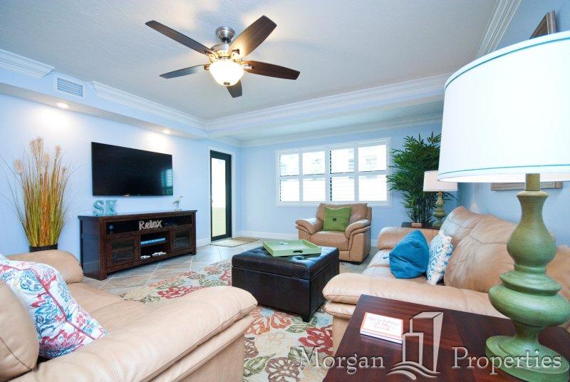 Morgan Properties - Sea Shell 105 -100% Renovated 2 Bed/2 Bath 150 feet to Beach - Image 1 - Siesta Key - rentals