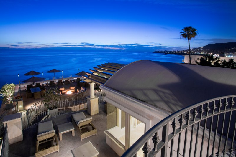 Villa Majorca View From Balcony of Master Bedroom - Updated- romantic ocean views- steps to sand! - Laguna Beach - rentals