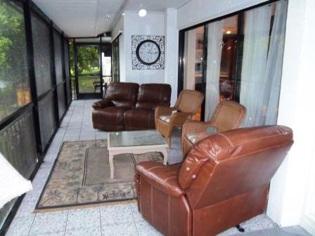 Kick back and relax on the covered lanai. - The Waterview Private Pool, Hot Tub, Games Room - Bradenton - rentals