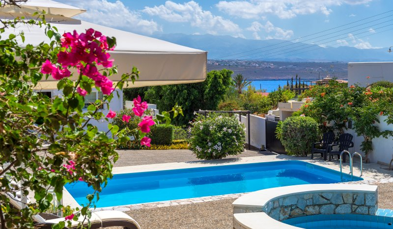 The Pools - VILLA  PLUMERIA CRETE - Chania - rentals