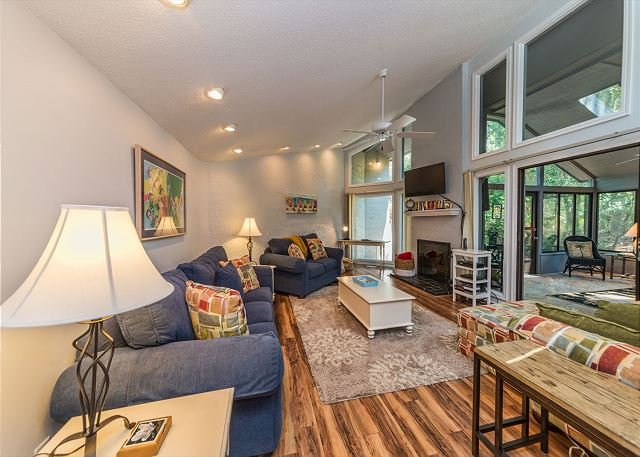 Pintail Court 1, 3 Bedroom, Pool, 3rd Row from Beach, Sleeps 10 - Image 1 - Hilton Head - rentals