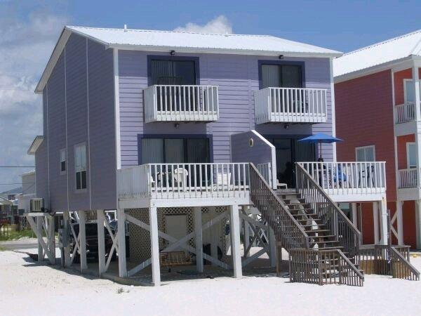 Toto Duplex - Gulf Front Duplex - Image 1 - Gulf Shores - rentals