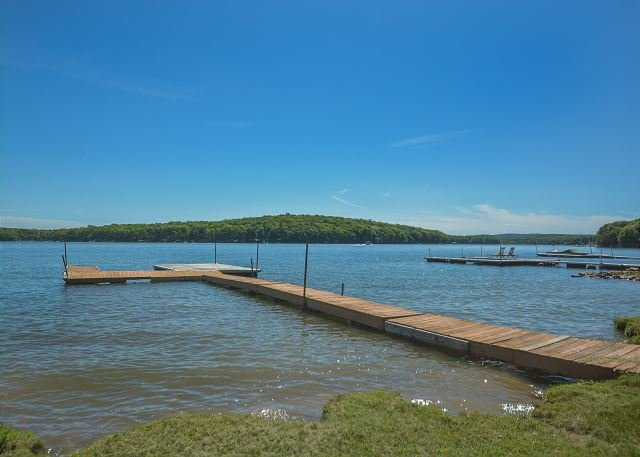 Dock - Wonderful 3 Bedroom Lakefront home w/ Private Dock in serene setting! - Swanton - rentals