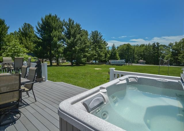 Hot Tub - Charming & Unique 3 Bedroom home within easy walking distance to lake! - Swanton - rentals