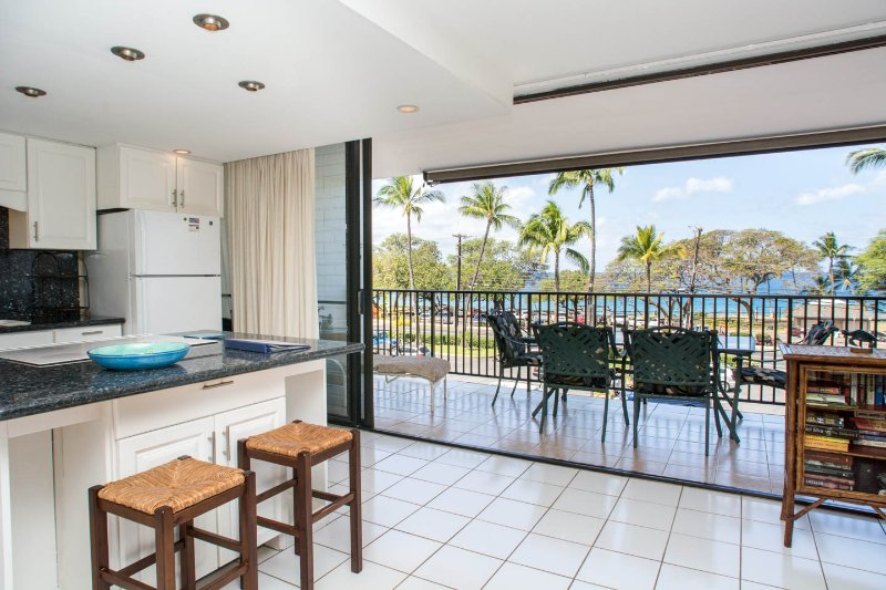 Ocean view from lanai - Maui Parkshore 311 *Ocean View*  2 BR/2 Bath - Kihei - rentals