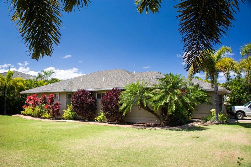 Side of the House - Cajudoy's Hale - Permit # STKM  2O13-0018 - Kihei - rentals