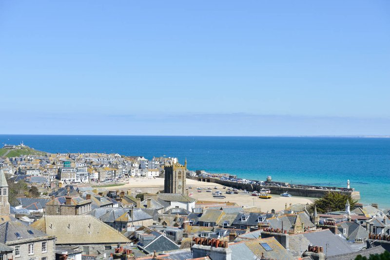 The view from the flat lounge window. - Andy's Place holiday flats St Ives - Saint Ives - rentals