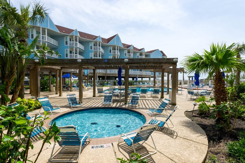 Beachfront Seascape 2BR 2BA Sleeps 8 NEW LISTING!! - Image 1 - Galveston - rentals