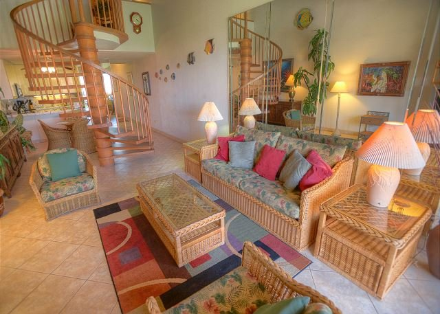 FALL Specials! Family-friendly 2-bedroom condo with a beautiful ocean view! - Image 1 - Kihei - rentals