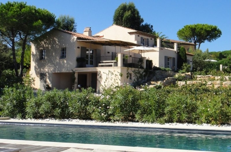 Villa Beauregard Villa to Let on French Riviera, St. Tropez villa with pool for - Image 1 - Saint-Tropez - rentals