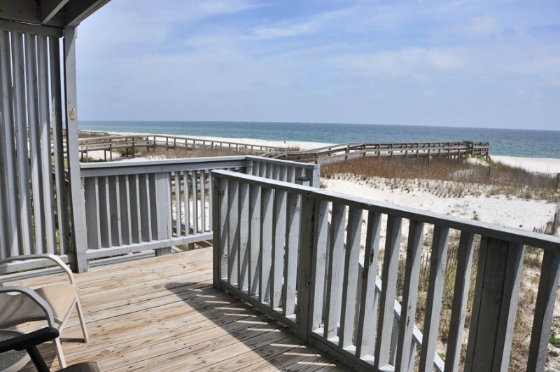 Spectacular Gulf Front townhouse on private beach - Image 1 - Ono Island - rentals