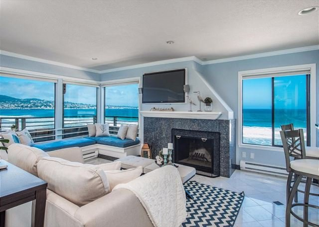 Welcome to Sea and Sand Sanctuary! Gorgeous Beach Front Property!  - 3728 Surf and Sand Sanctuary - Ocean Front Condo with Amazing Views! - Monterey - rentals
