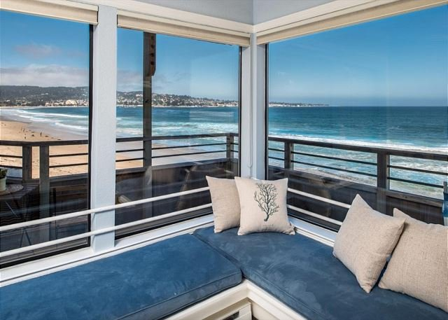 Welcome to Beach Front Paradise!  Watch the dolphins and whales from this beautiful beachfront condo. - 3728 Beach Front Paradise - Ocean Front Condo with Amazing Views! - Monterey - rentals