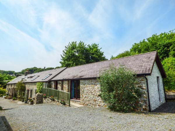 BUZZARD COTTAGE, all ground floor, hilltop views, pet-friendly, Llandysul, Ref 935574 - Image 1 - Llandysul - rentals