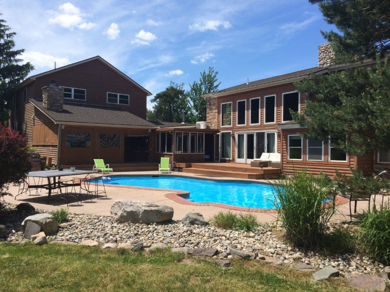 Amazing Luxury Estate with Private heated Pool and Volleyball court by Kalahari - Image 1 - Mount Pocono - rentals