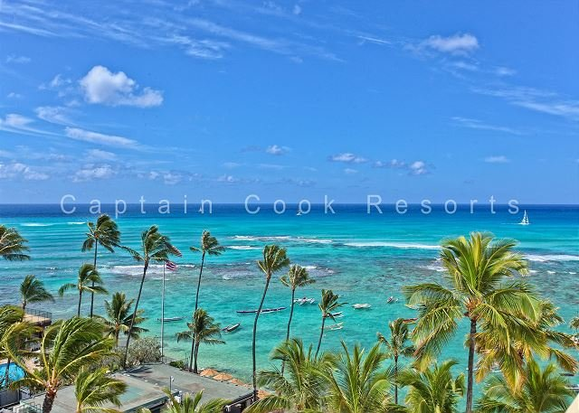 900 Sq Foot Condo - Quiet Beachfront Building - Swimming/Surfing Beach - Image 1 - Waikiki - rentals