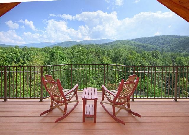 BRAND NEW  - Unrestricted views of the smokies in this Luxury getaway cabin. - Image 1 - Gatlinburg - rentals
