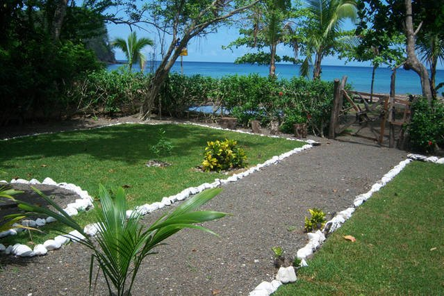 View from the Front Porch..! - Private Beach Front Villa, Jeep-- Free Kayaks..! - Jaco - rentals