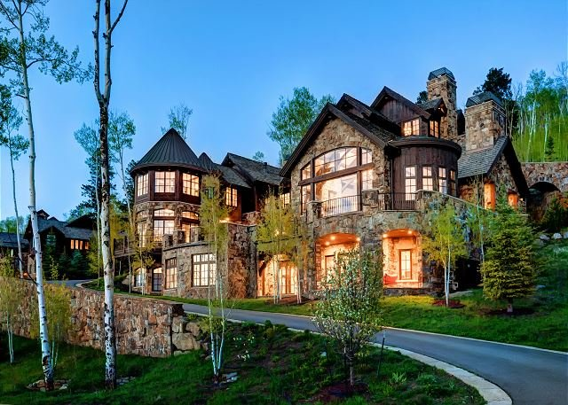 The Castle - 7BR Platinum Ski In/Out Beaver Creek Home Above Exclusive Arrowhead Village - Edwards - rentals