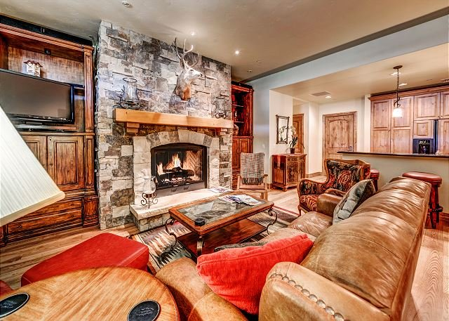 Living Room 2 - Spectacular 3BR Platinum Rated Ski In/Ski Out Beaver Creek Landing Condo - Avon - rentals