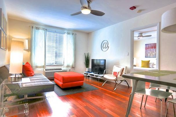 Miami Beach - The Di Lido: 1 bed / 1 bath, pool & private garden. - Image 1 - Miami Beach - rentals