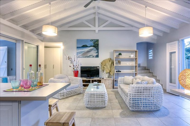 Martinique - Villa-on-The Rock: modern design villa on the beach - Image 1 - Martinique - rentals