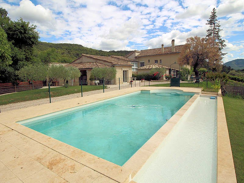 Vaison-La-Romaine Vaucluse, Big country house 12p, private pool - Image 1 - Vaison-la-Romaine - rentals