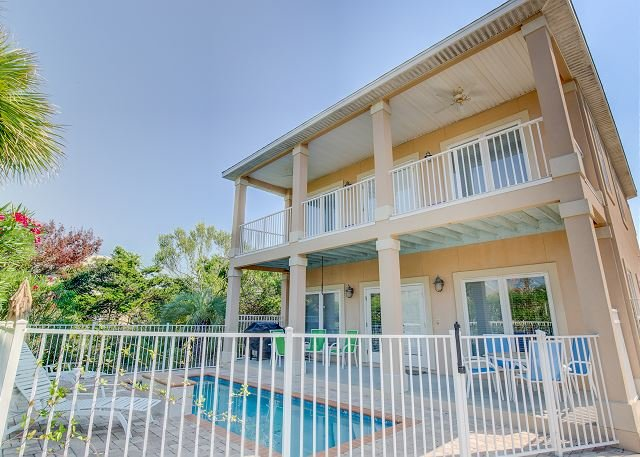Relaxing Coastal Theme 5 bedroom 4.5 bath with Private Pool! - Image 1 - Miramar Beach - rentals