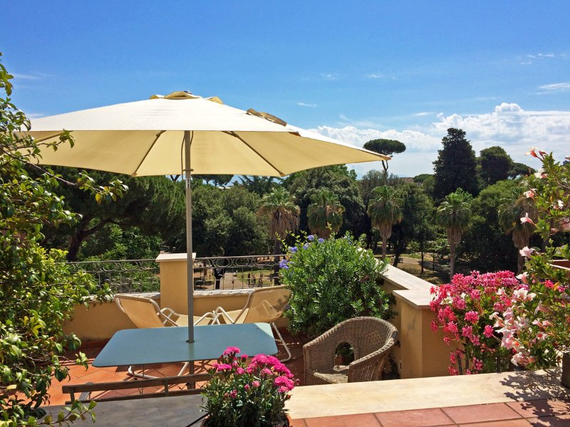 terrace at morning  - Boutique penthouse & Wonderful Terrace-Rome centre - Rome - rentals