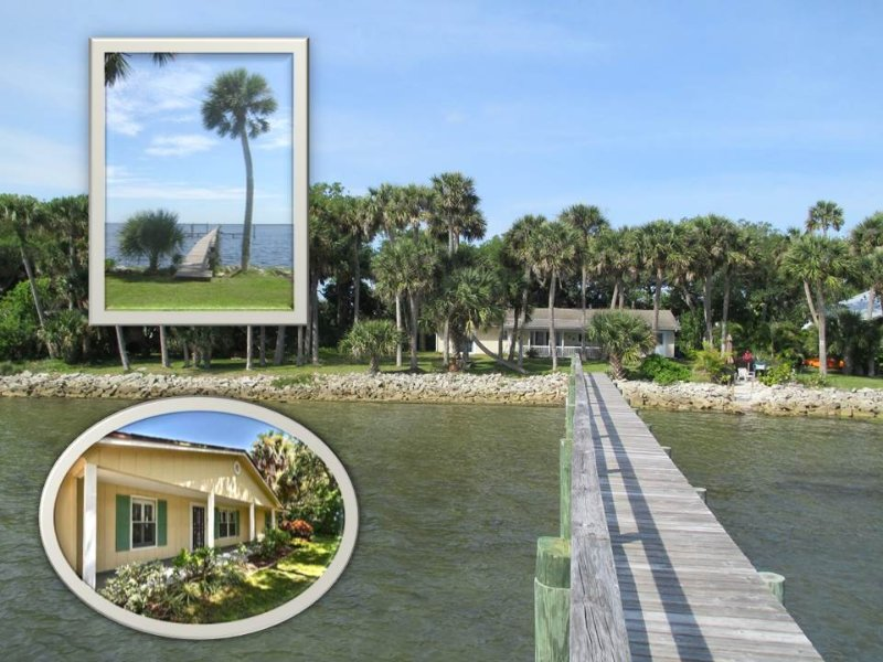 Wow, what a view! and it's all just outside the back door! - WOW! RIGHT ON THE INTRACOASTAL WATERWAY! - Sebastian - rentals