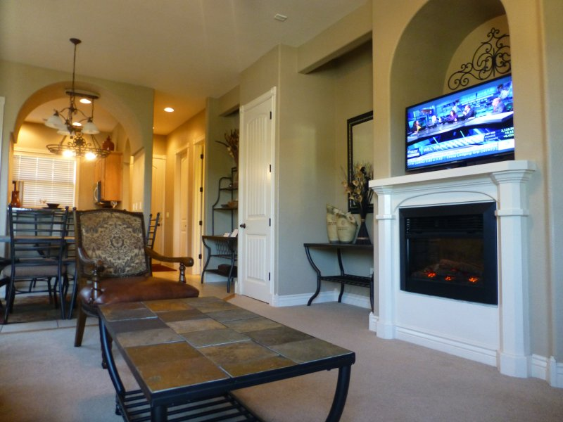 Living Room - Upscale 2 Bed-2 Bath Next to Silver Dollar City! - Branson - rentals