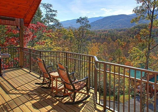 Brand New 1 Bedroom Luxury Cabin with Amazing Views - Image 1 - Gatlinburg - rentals
