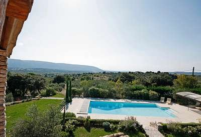 6 Bedroom Villa With stunning views Overlooking Luberon Valley - Image 1 - Gordes - rentals