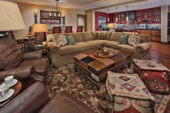 Living Room - Lone Star -One Steamboat Place- Ski in/Ski out - 4BR - Steamboat Springs - rentals