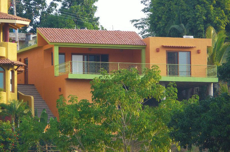 Street view - Casa Kenya - In town with ocean view! - San Pancho - San Pancho - rentals