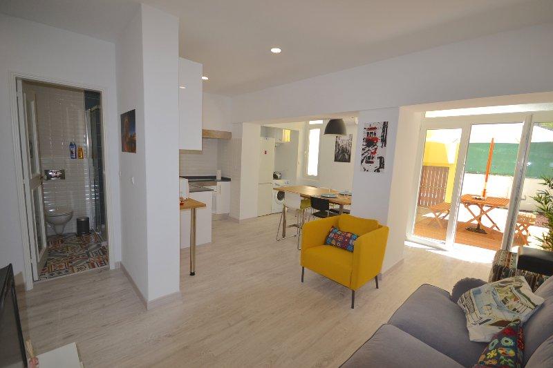 living room - Casa das amoreiras - Lisbon - rentals
