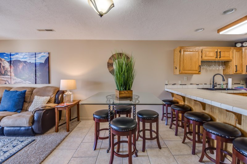Snow Canyon & Red Rock Views - 3 Bedroom Condo with Awesome Deck - Image 1 - Saint George - rentals