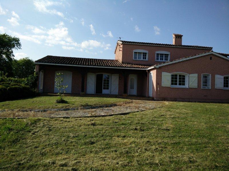 Front of property - La Maison Rose - Marciac - rentals