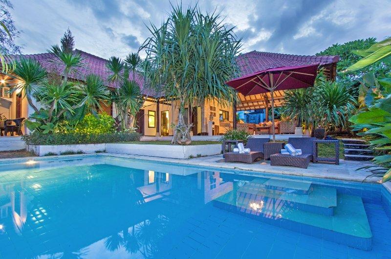 Santai 2BR Villa with Surf Shack, Umalas - Image 1 - Kerobokan - rentals