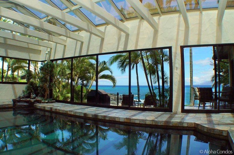 Maui Oceanfront Poolhouse - pool, spa, oceanfront - Image 1 - Lahaina - rentals
