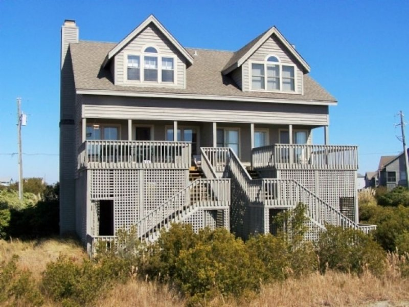 Back of Home - Serenity Point-Baylin B - Topsail Beach - rentals
