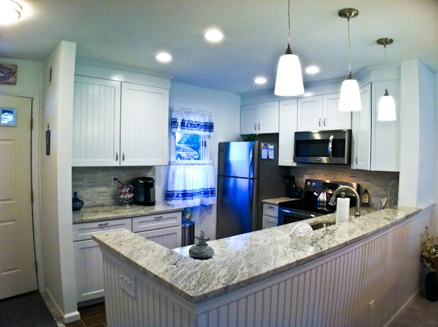 Kitchen - Ocean Edge - Renovated, straight stairscase,  A/C,  pool (fees apply) - TR0620 - Brewster - rentals