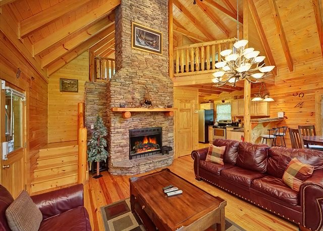 New 2 Bedroom Luxury Cabin in Gatlinburg - Image 1 - Gatlinburg - rentals