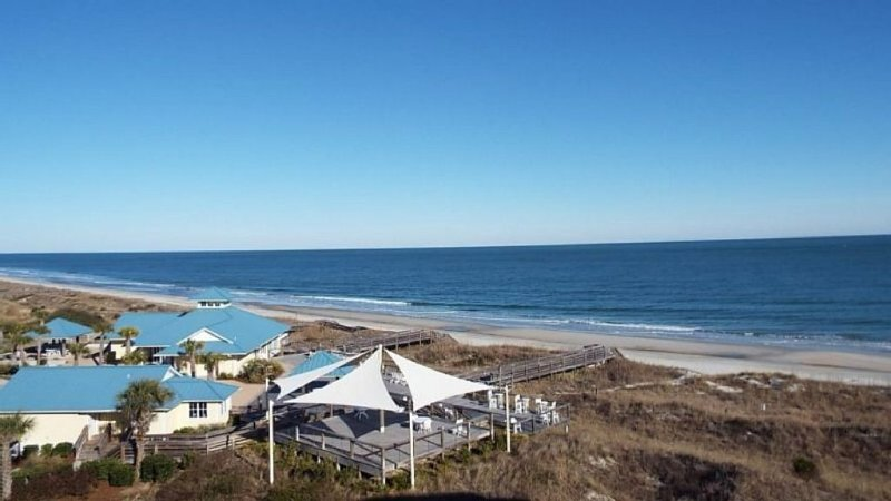 Unlimited vistas of pristine beaches.  Can you hear the ocean? - Steps from the Pristine Beach and Atlantic Ocean - Pawleys Island - rentals