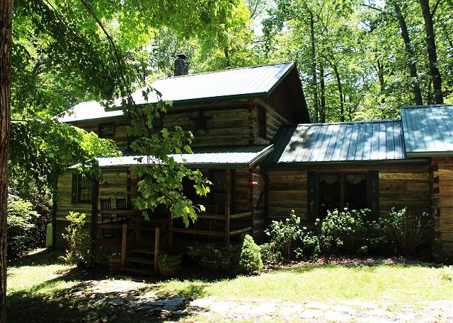 Creekside Cabin With Hot Tub, Fire Pit& Screened In Porch Lower Summer Rates - Image 1 - Todd - rentals
