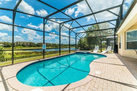 Windsor Hills Orlando Lakefront Villa Pool - Windsor Hills Orlando Lakefront Villa - Orlando - rentals