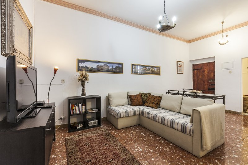 Living Room - 2 Bedrooms/ 2 Baths LOVELY HOME By The Colosseum - Rome - rentals