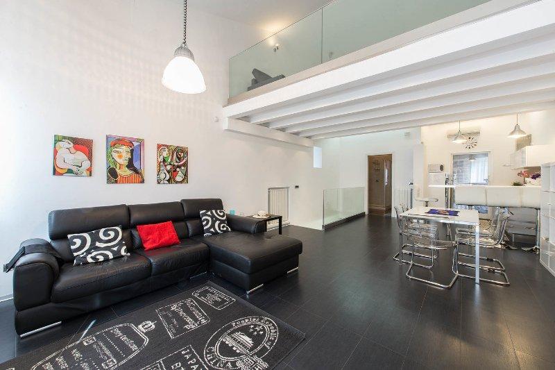 Living Room - Wi fi free Casa  Design Al Palazzo Reale  Palermo - Palermo - rentals