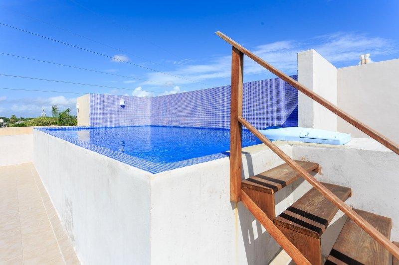 The Pool - Studio Apartment Value Prices Easy Location - Playa del Carmen - rentals